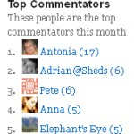 Technology Bloggers top commenters in June 2011