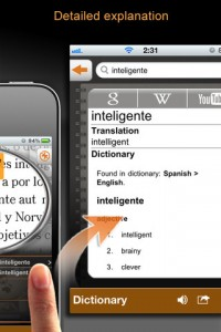 Worldictionary iPhone App Dictionary Screenshot