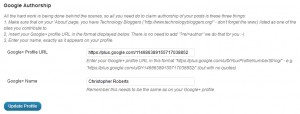 Screenshot Technology Bloggers Admin Profile - Google Authorship