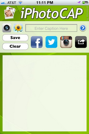 iPhotoCap App