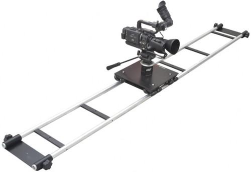 A camera on a track