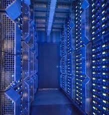 Inside a US data centre