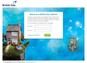 British Gas myHome