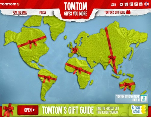 Unwrap the world - TomTom