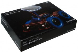 Build your own solar powered car set - John Lewis