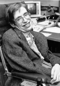 Stephen Hawking - Photo from Wikipedia