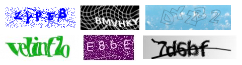 CAPTCHA pictures