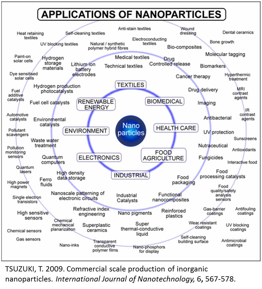 Nanotechnology and some usage areas of