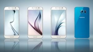Samsung Galaxy S6 smartphone