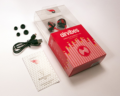 Airvibes headphone set