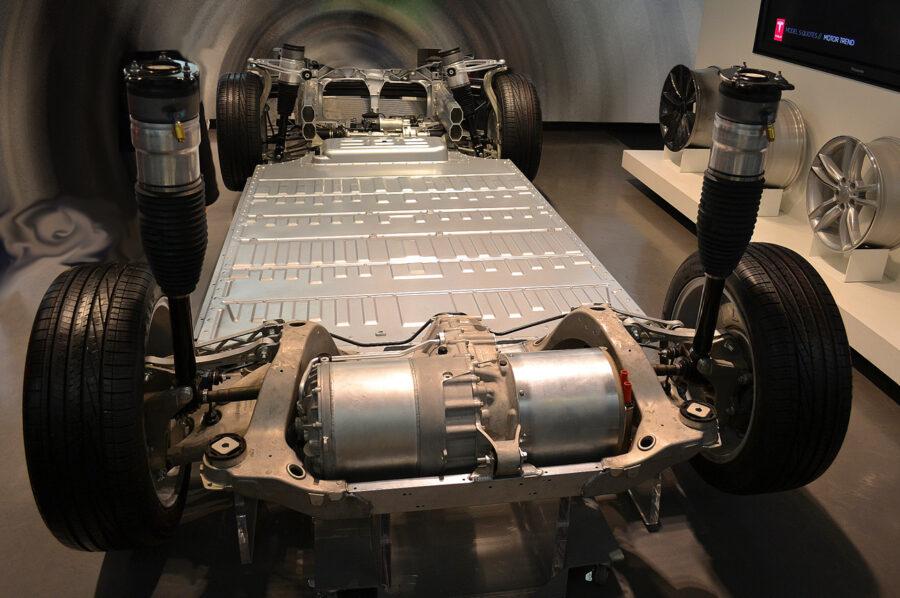An EV powertrain